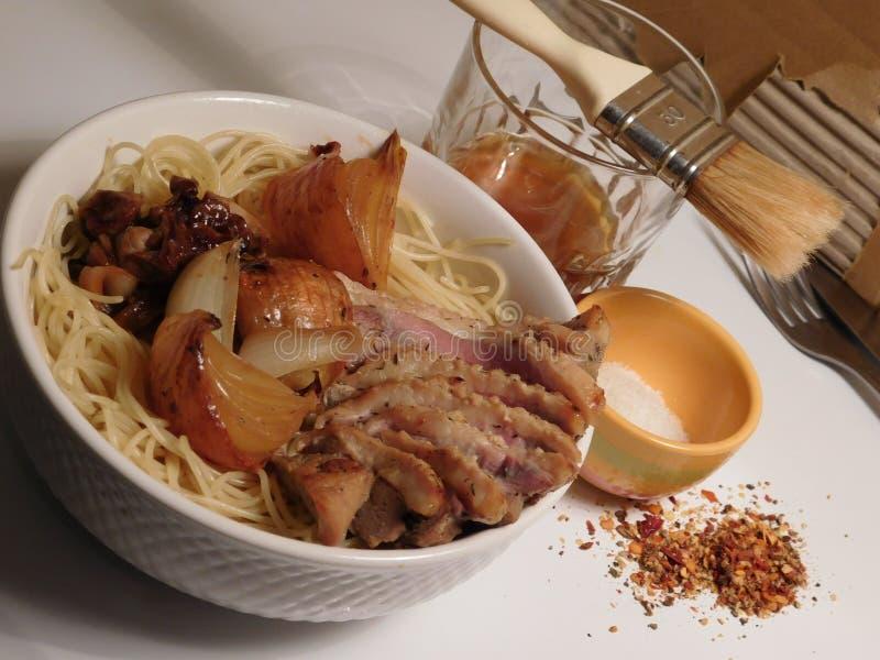 拉面食物谬传japon面条 免版税图库摄影
