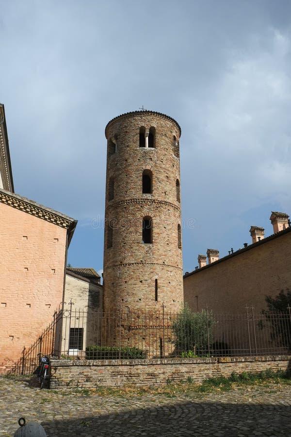 拉韦纳市,意大利 免版税图库摄影