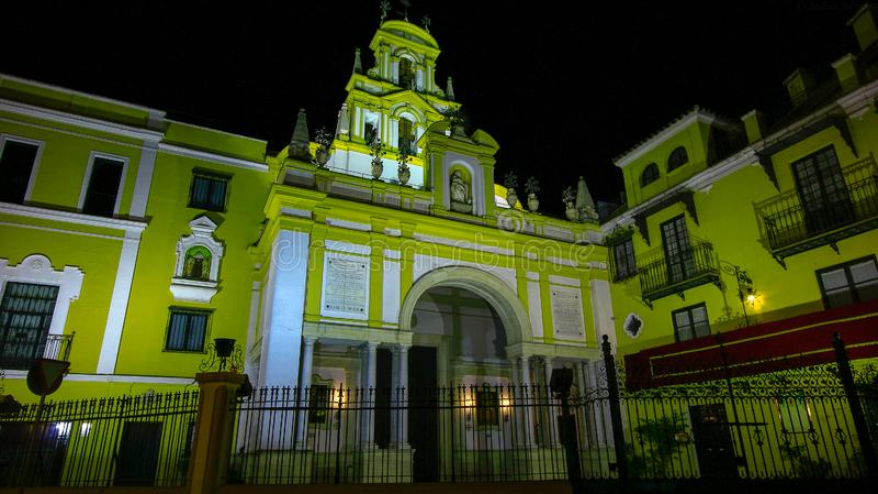 拉马卡雷纳,塞维利亚西班牙大教堂  塞维利亚西班牙 图库摄影