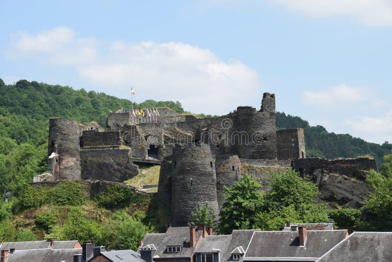拉洛希城堡 免版税库存图片