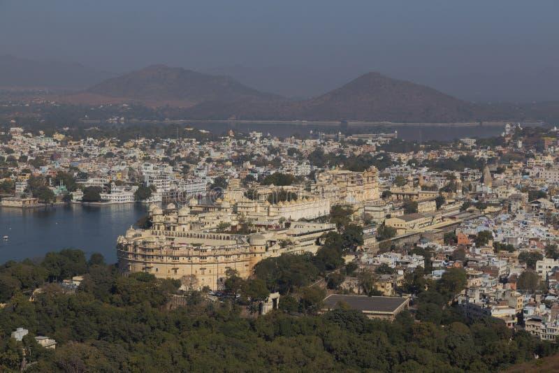 拉贾斯坦国家的乌代浦市的印度 图库摄影