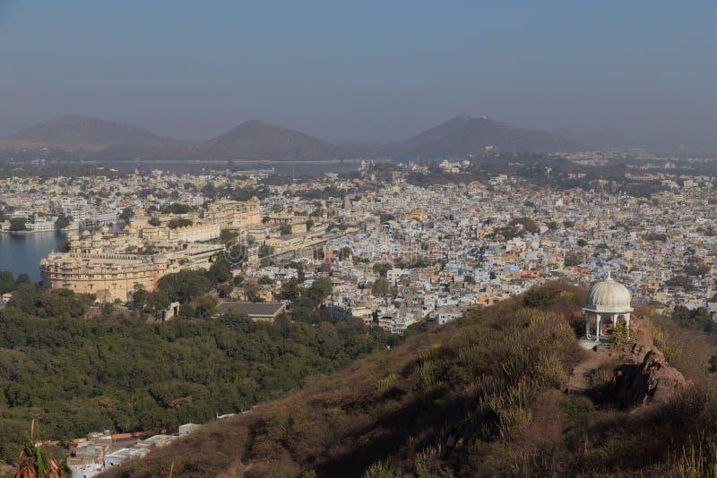 拉贾斯坦国家的乌代浦市的印度 免版税库存照片