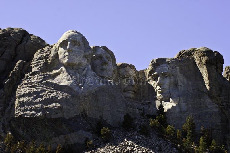 拉什莫尔山全国纪念南达科他 免版税图库摄影