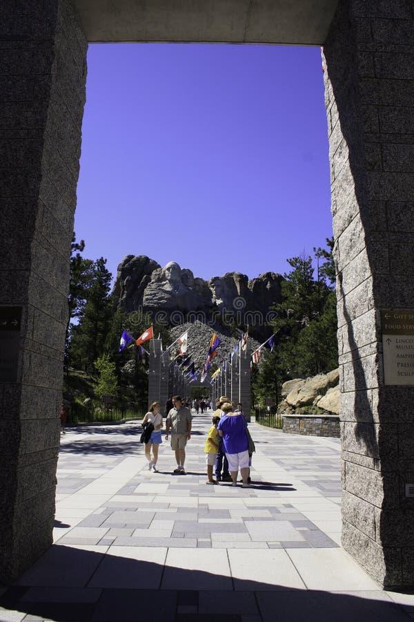 拉什莫尔山全国纪念南达科他 库存图片