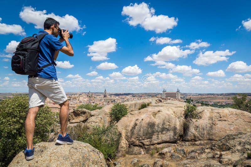 拍摄托莱多风景 免版税库存图片
