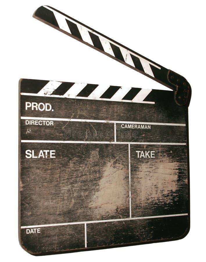 拍板电影 免版税库存图片