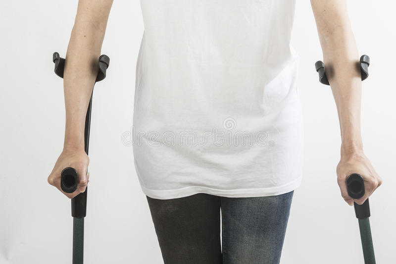 拐杖 免版税图库摄影