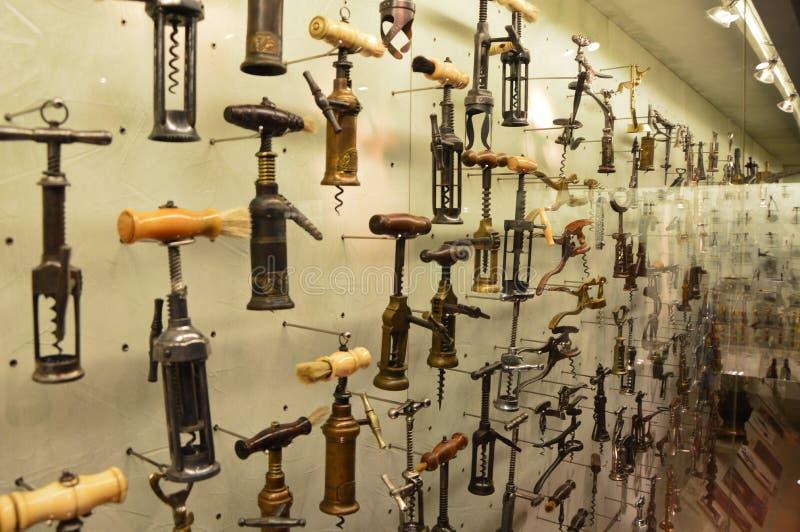 拔塞螺旋博物馆汇集在塞萨罗尼基 免版税库存照片