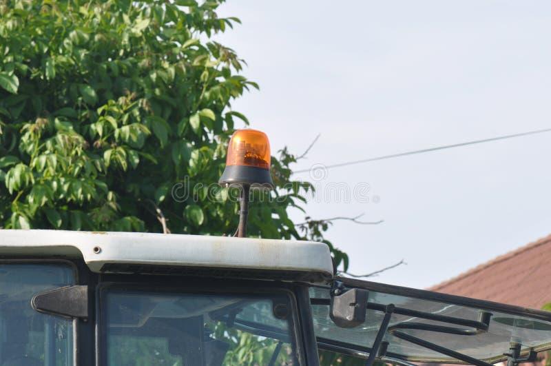 拖拉机屋顶细节 免版税库存照片