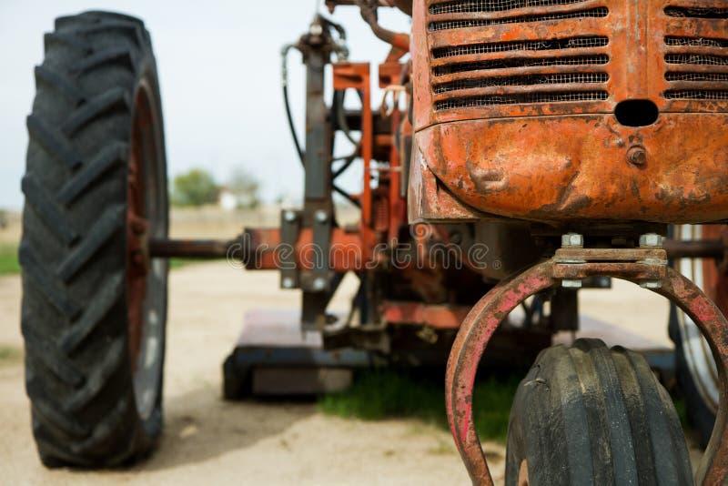 拖拉机的前端 库存照片