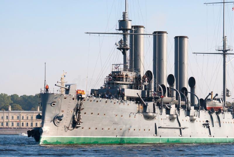 拖曳巡洋舰 图库摄影