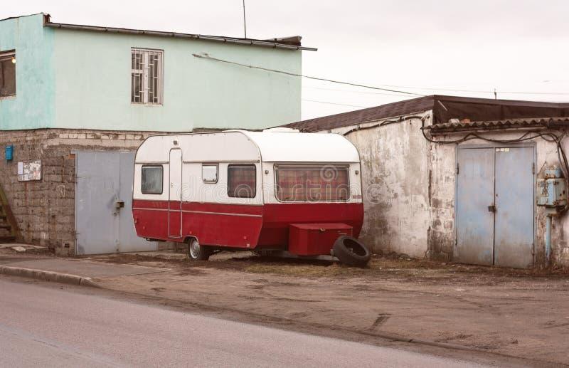 拖车 库存照片