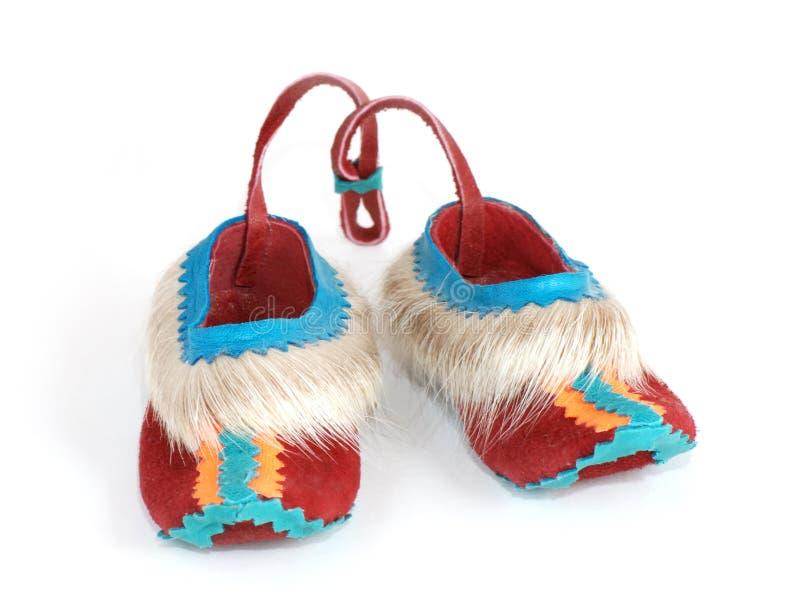 拖鞋小的纪念品 免版税图库摄影