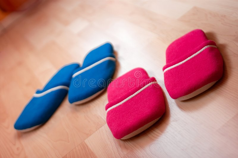 拖鞋 免版税图库摄影