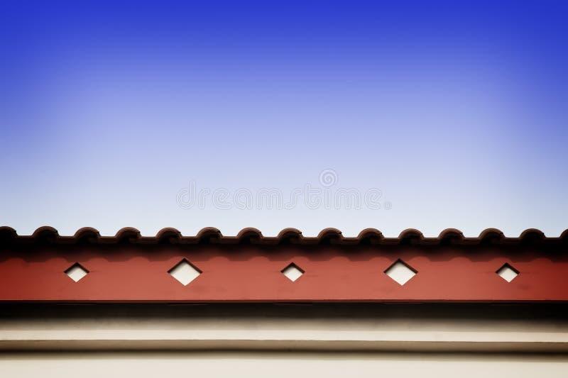 招牌线路屋顶 库存图片