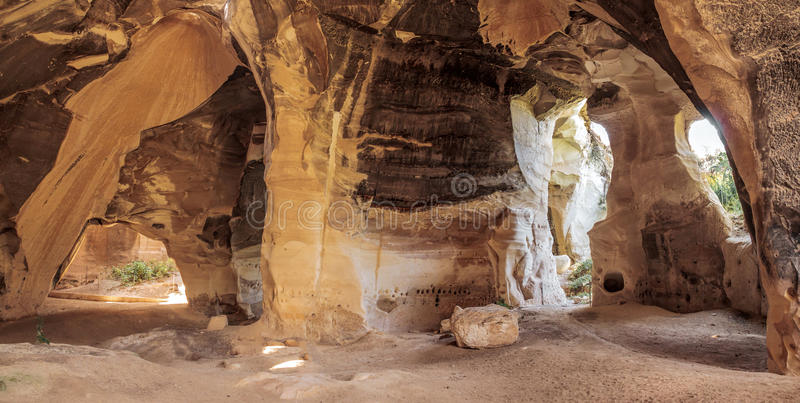 拜特Guvrin国家公园 免版税库存照片