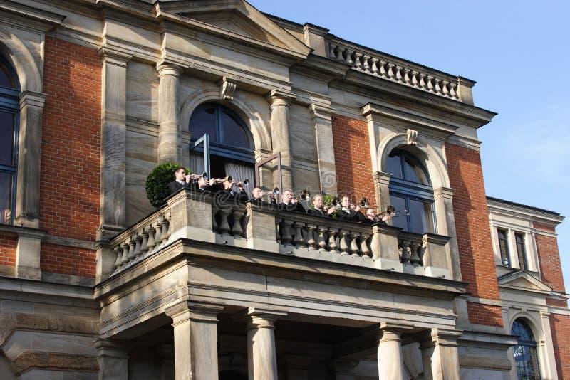 拜罗伊特房子歌剧Richard Wagner 库存照片