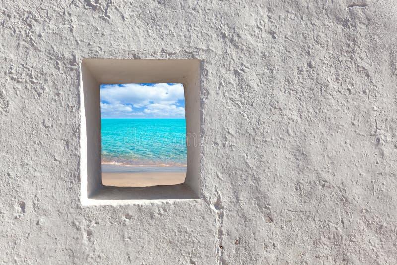 拜雷阿尔斯海滩田园诗海岛绿松石 免版税库存图片