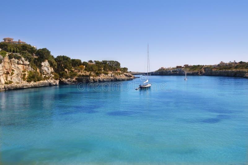 拜雷阿尔斯海滩cristo海岛mallorca波尔图 免版税库存图片