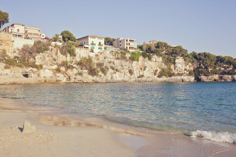 拜雷阿尔斯海滩cristo海岛mallorca波尔图 免版税图库摄影