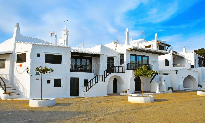 拜雷阿尔斯binibeca海岛西班牙 图库摄影