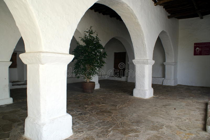拜雷阿尔斯ibiza海岛西班牙 免版税库存照片