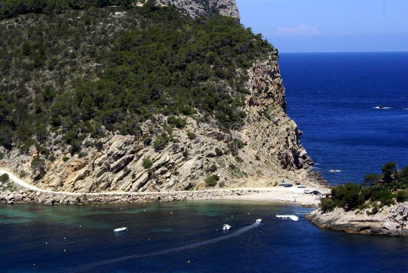 拜雷阿尔斯ibiza海岛西班牙 免版税库存图片