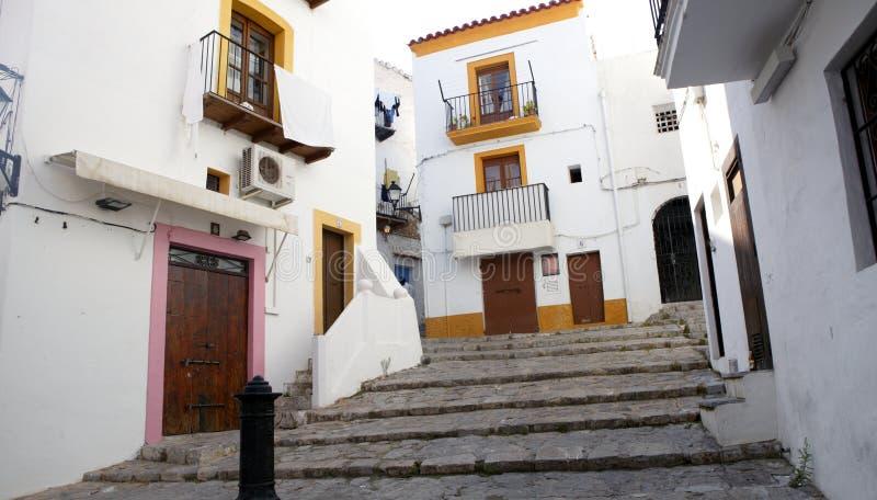 拜雷阿尔斯ibiza海岛西班牙 库存图片