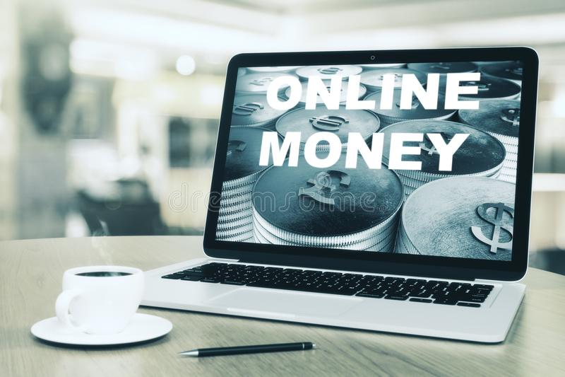 拟订商务计算机概念赊帐e现有量关键董事会 向量例证