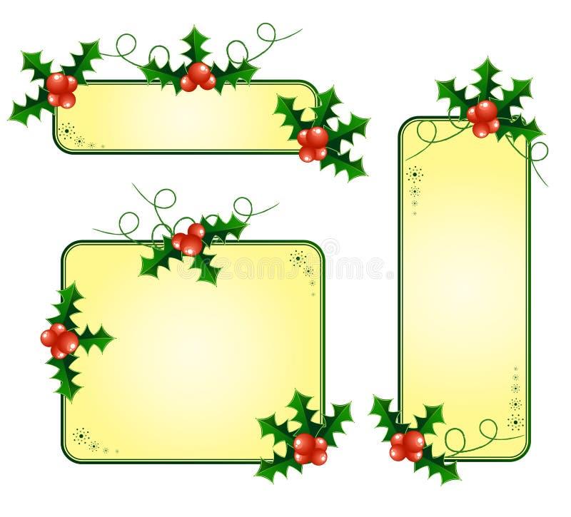 Download 拟订圣诞节欧洲霍莉 向量例证. 插画 包括有 xmas, 圣诞节, 装饰品, 12月, 当事人, 节假日 - 22358331