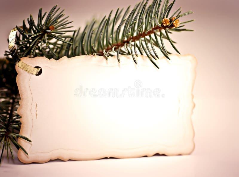 拟订圣诞节问候 库存照片