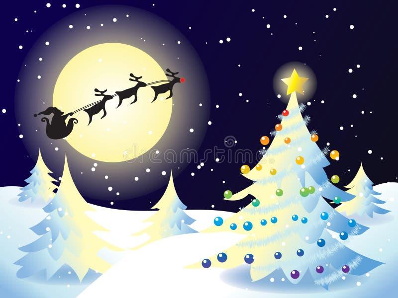 拟订圣诞节 向量例证