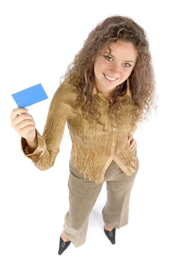 拟订妇女 免版税库存图片