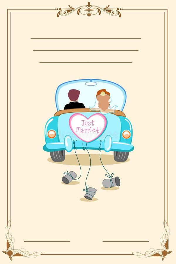 拟订婚礼 向量例证