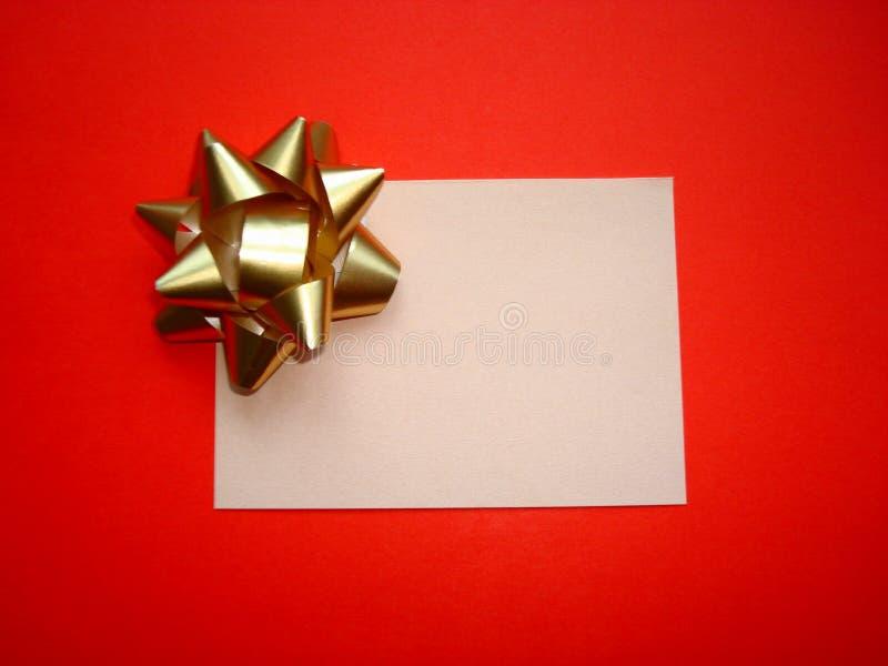 拟订礼品 免版税库存图片