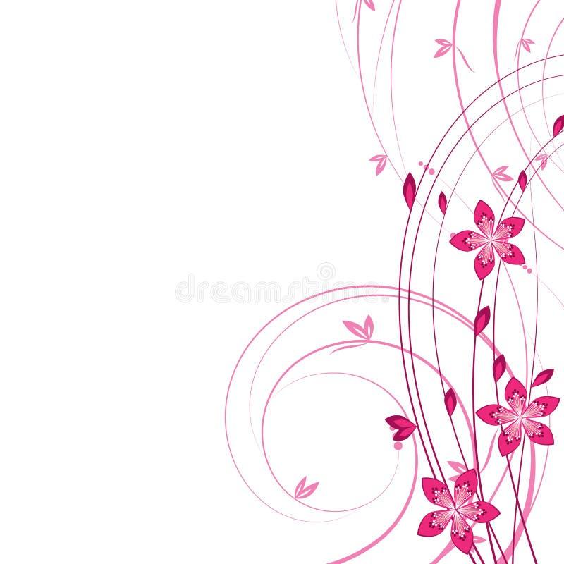 拟订花卉 库存例证
