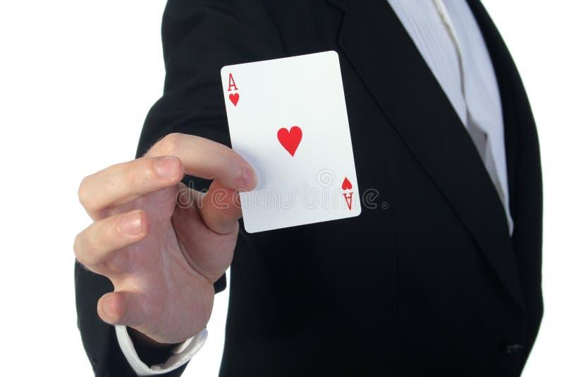 拟订魔术师 图库摄影