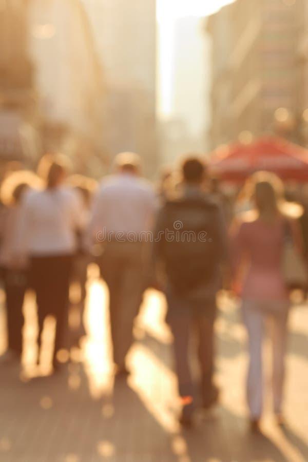 拥挤的街 库存图片