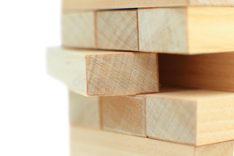 阻拦木 免版税库存图片