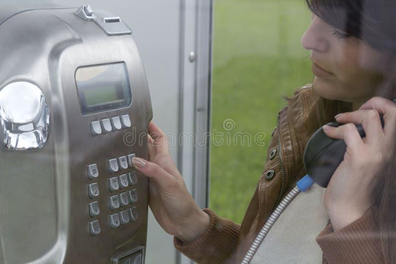 拨一个电话号码 库存图片