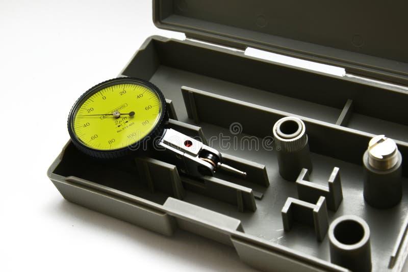 拨号盘测量仪 库存图片