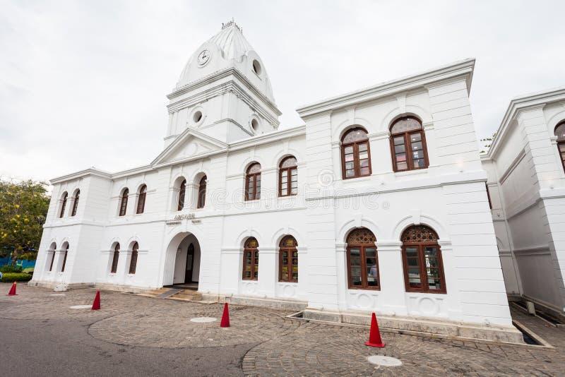 拱廊独立广场,科伦坡 免版税库存图片