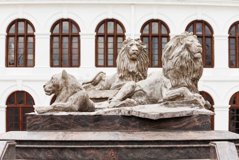 拱廊独立广场,科伦坡 图库摄影