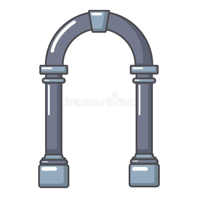 拱道具体象,动画片样式 皇族释放例证