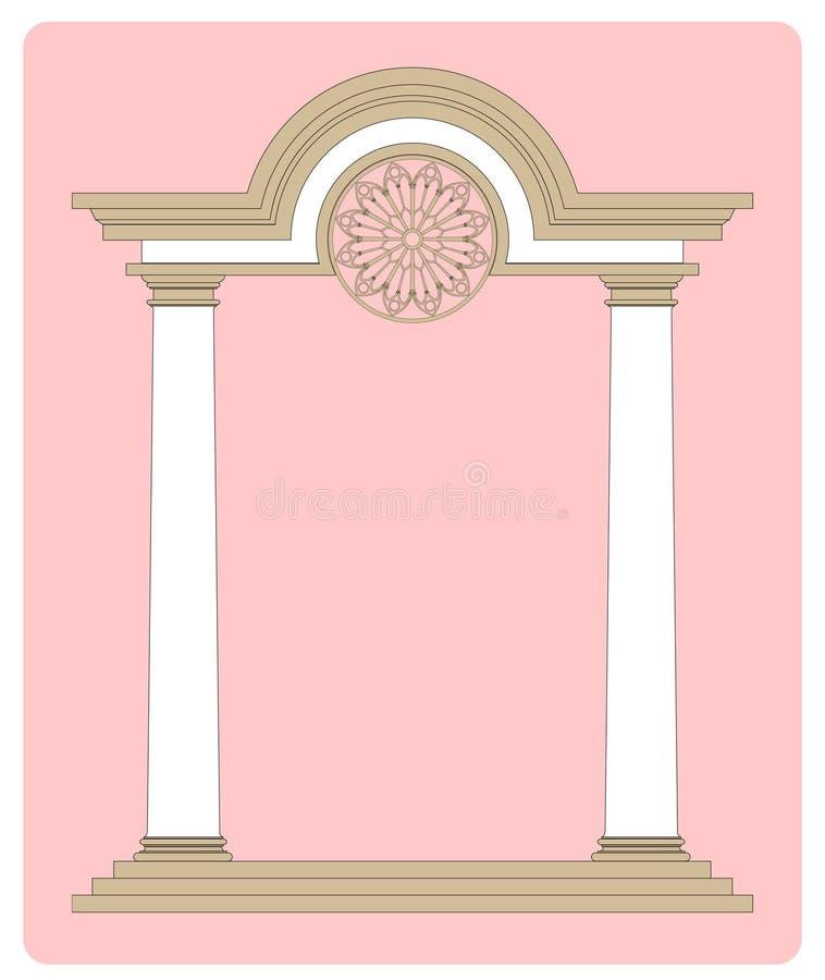 拱道古典二 向量例证