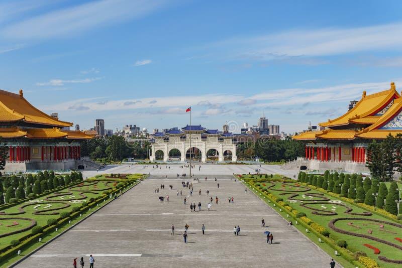 拱道,中正纪念堂的国家音乐厅 库存照片