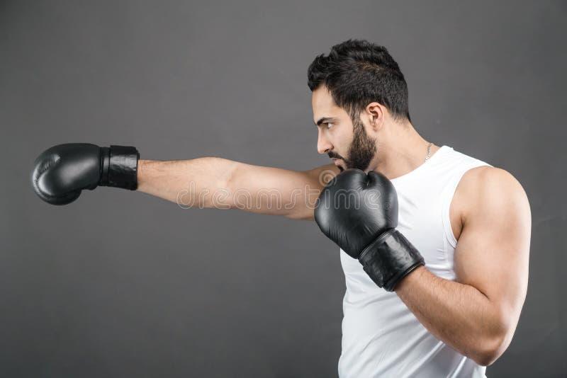 拳击手人 图库摄影