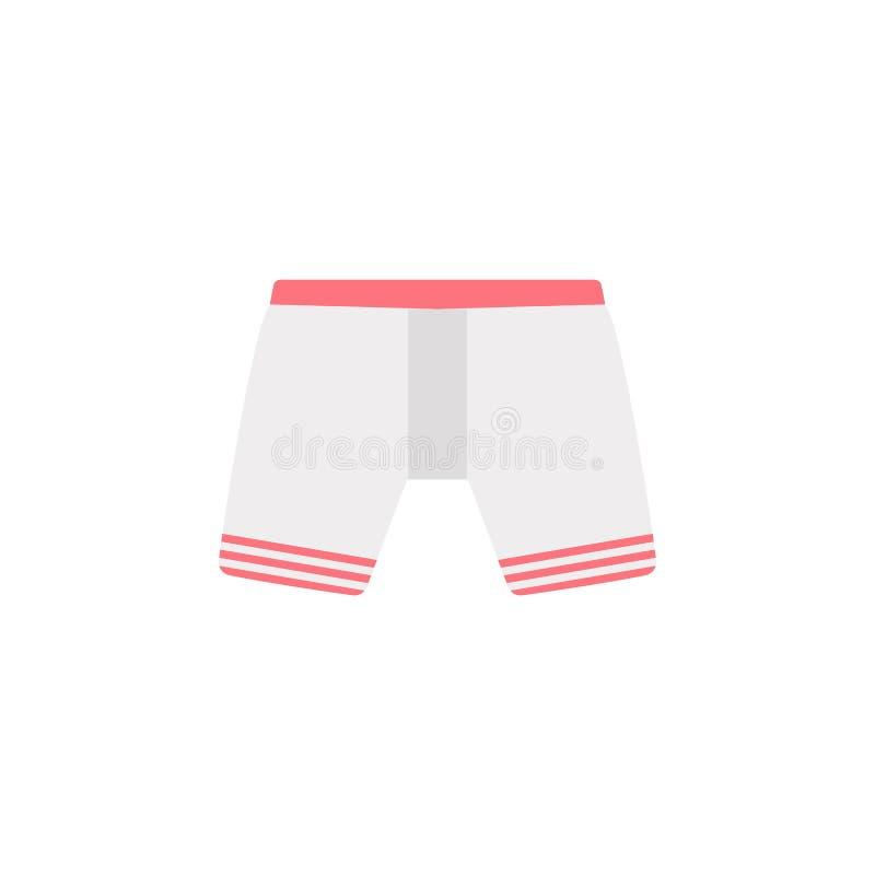 拳击手颜色象 颜色流动概念和网应用程序的衣裳象的元素 详述的拳击手象可以为网和MOBIL使用 皇族释放例证
