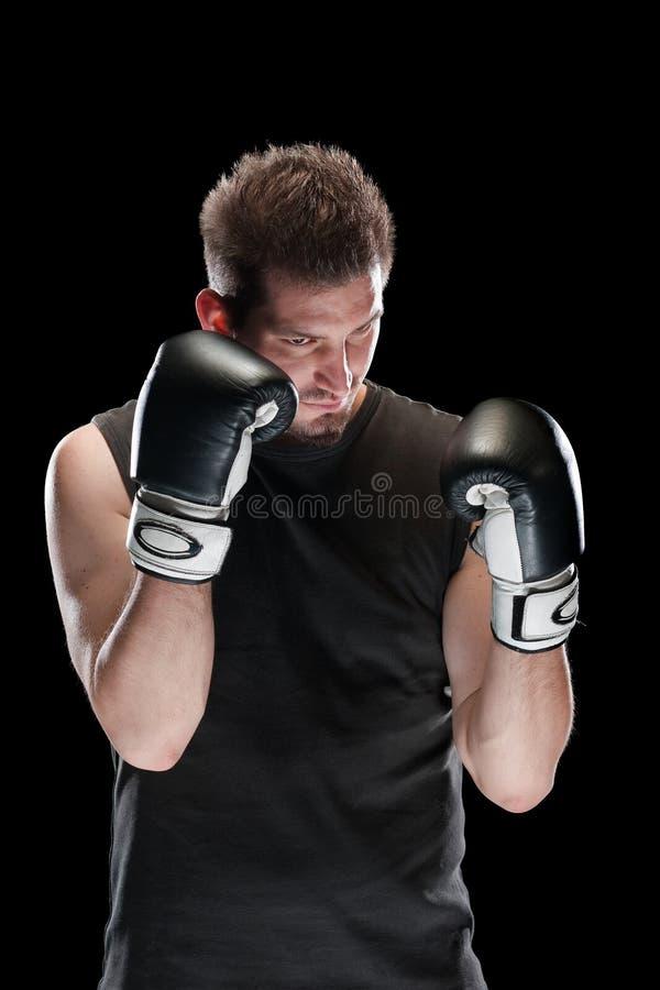 拳击手 免版税库存图片
