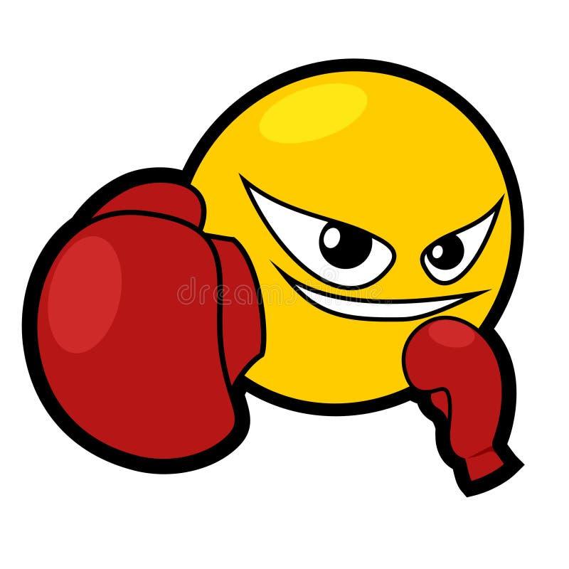 拳击次幂 皇族释放例证